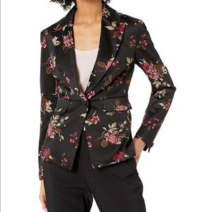 Nine West Floral Blazer